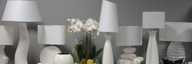 Lampy Stołowe Biała Kolekcja