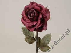 Burgundy antique rose 59cm [AZ01703]