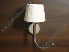 LOOP CHOCOLATE beige wall lamp with LED 18x28-50cm [AZ02569]