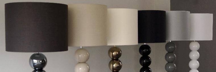 wysokie lampy stojące