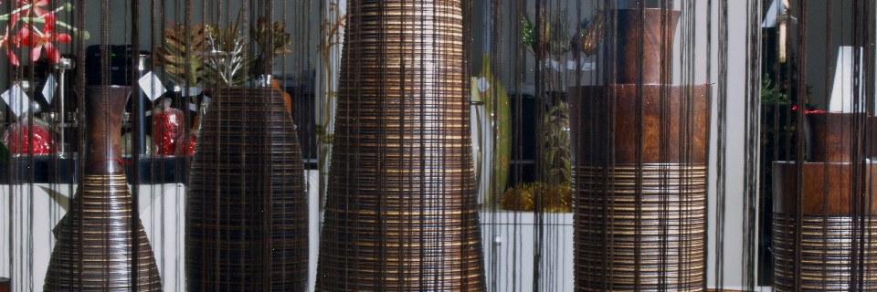 Wysokie Dekoracyjne Wazony Drewniane W Sklepie A Z Decor
