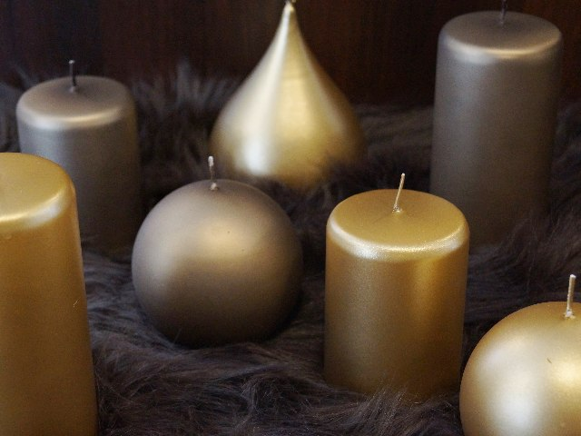 CANDLE INSPIRATIONS IN BROWN TONES
