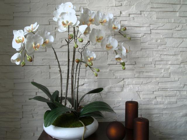 FASCINATING PHALAENOPSIS  ARTIFICIAL ORCHIDS
