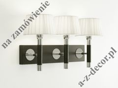CONTRAST WENGUE triple wall lamp 53x28cm [744]
