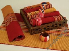 Cotton table set 19 pcs [AZ00359]