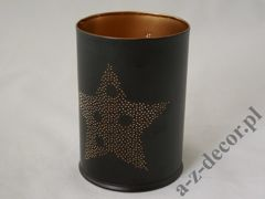Metal candle holder 10x14cm [AZ02170]