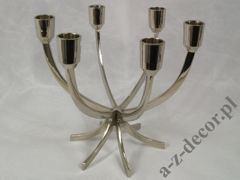 Metal candle holder x6, 24x15x22cm [AZ01402]