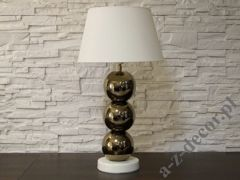 PERLA III gold table lamp 39x71cm [AZ02480]