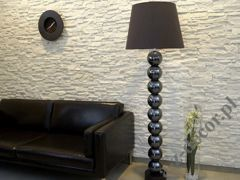 PERLA IX iris brown floor lamp 55x170cm [AZ02178]