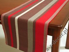 Red rib runner 45x140cm [AZ02139]