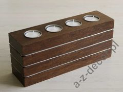 Tealight candle holder 26x7x11cm [AZ00395]