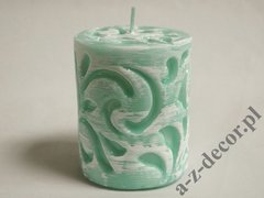 Tiffany pillar fiorentino candle 8x10cm [AZ02347]
