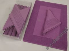 Violet cotton table set 8 pcs design153 [AZ01215]