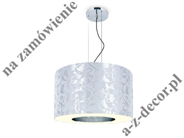RING Royal White-Silver suspension 90x65-165cm [2530]