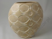 ALMOND earthenware vase 27cm [AZ01127]