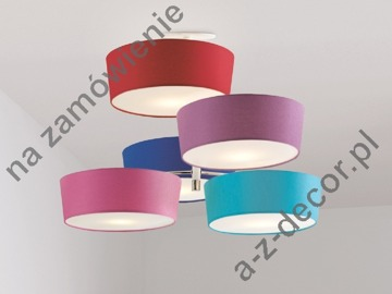 ARTY MATE BRANCO ceiling lamp 5 lampshades 54x82cm [213]