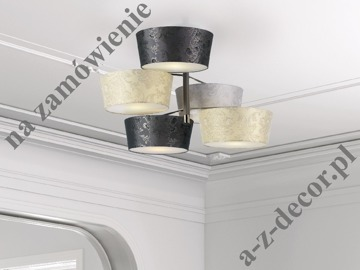 ARTY ceiling lamp 82x54cm w/5 HANSEL  lampshades [126]