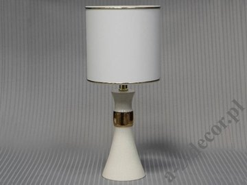 BADGIR ivory bedroom lamp 47cm [AZ02596]