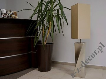 BIG TWISS gold floor lamp 129cm [AZ02701]