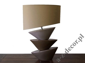Brown BATEL table lamp 40x27x62cm [AZ02159]