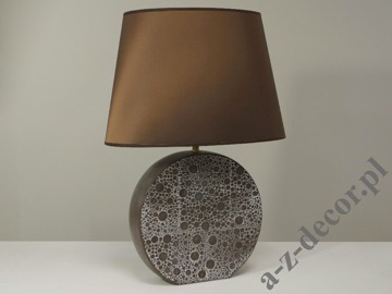Brown NOEMI table lamp 40x27x58cm  [AZ02009]