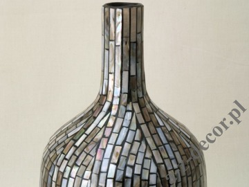 Ceramic vase with raining design 16x42cm [AZ01414]