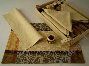 Cotton table set 19 pcs GS152 [AZ00500]