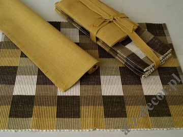 Cotton table set 8 pcs [AZ00494]
