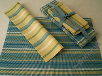 Cotton table set 8 pcs design08 [AZ00498]