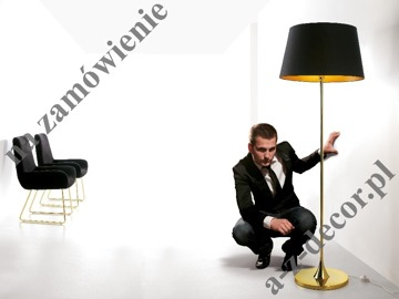 DELTA Gold floor lamp 55x170cm [740]