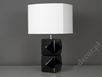 DIAMS BL black bedroom lamp 27x27x40cm [AZ02484]