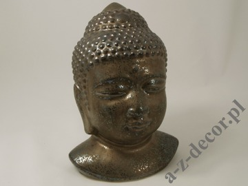 Earthenware Buddha head 22x19x30cm [AZ01122]
