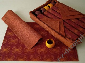 Jacquard cotton table set 19 pcs [AZ00369]