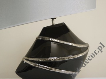 LACE BW table lamp 55x34x63cm [AZ02240]