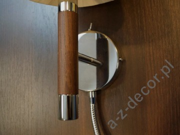 LOOP Chocolate beige wall lamp with LED 50cm [AZ02569]