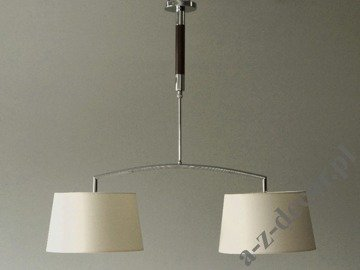 LOOP Chocolate double pendant lamp 95x68-96cm [AZ02621]