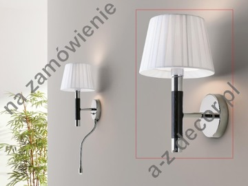 LOOP Wengue white wall lamp 28cm [AZ02672]