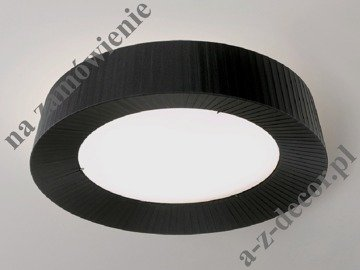 LOOP pleated plafond 60cm black [000773]