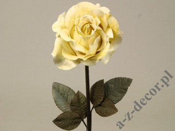 Lemon green antique rose 59cm [AZ01704]