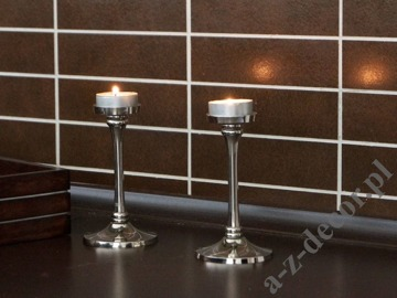 Metal T-light candle holder 7x12,5 [AZ00857]
