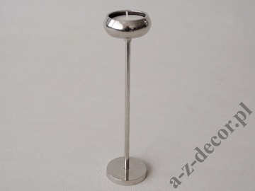 Metal T-light holder 5x20cm [AZ00863]