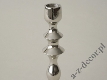 Metal candle holder 23cm [AZ01950]