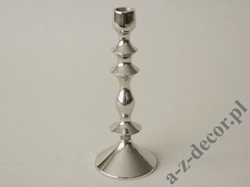 Metal candle holder 9x23cm [AZ01950]