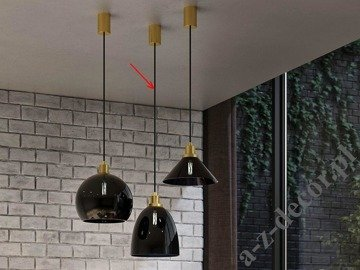 NIGHT II glass suspension lamp 100cm [2917]