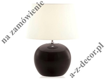 OSCAR black bedroom lamp 48cm [008218]