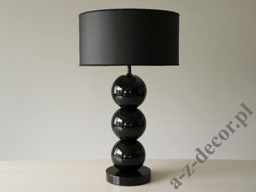 PERLA III black table lamp 40x68cm [AZ02468]