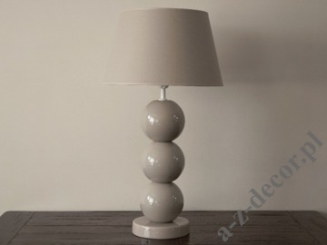 PERLA III cappuccino table lamp 39x71cm [AZ02414]