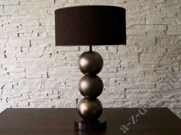 PERLA III dark gold table lamp 40x68cm [AZ02562]