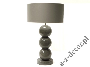 PERLA III grey table lamp 39x68cm [AZ02572]