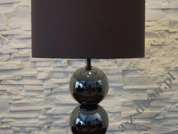 PERLA III iris brown table lamp 40x68cm [AZ02177]